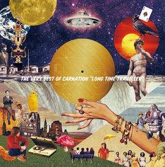 """カーネーション「The Very Best of CARNATION """"LONG TIME TRAVELLER""""」ジャケット"""
