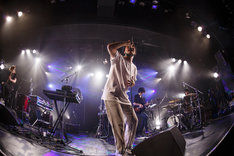 「DATS『Message』ワンマン・ツアー」東京・LIQUIDROOM公演の様子。(Photo by Kosuke Ito)