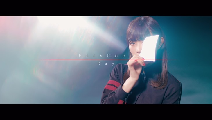 PassCode「Ray」ミュージックビデオのワンシーン。