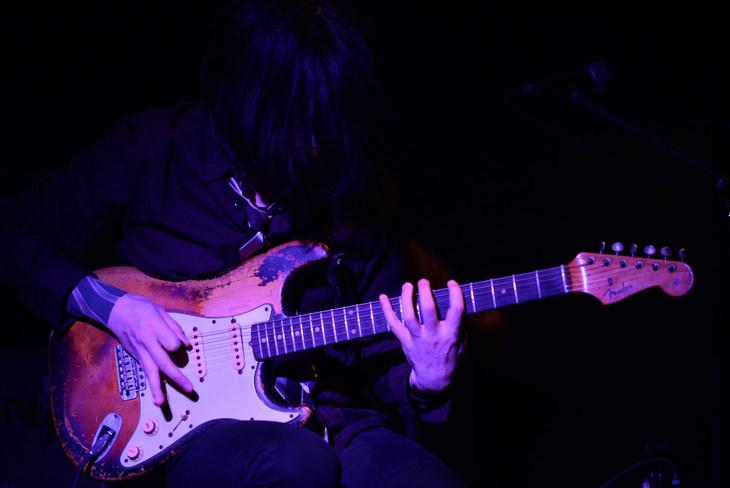 """「Aoki Yutaka """"Lost in Forest"""" LIVE」の様子。(Photo by Eisuke Asaoka)"""