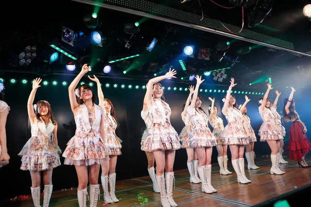 峯岸チームK「最終ベルが鳴る」公演千秋楽の様子。(c)AKS