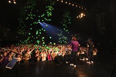 ブリーフ&トランクス「ブリトラスーパーBEST祭り2018」の様子。(撮影:石塚康之)