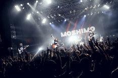 MOSHIMOワンマンツアー2018 春「圧倒的妄想ト現実ノ交差」最終公演の様子。(撮影:後藤壮太郎)