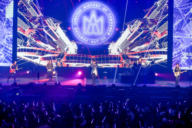 「MAYDAY 2018 LIFE TOUR in TOKYO」5月20日公演の様子。(Photo by Viola Kam [V'z Twinkle])