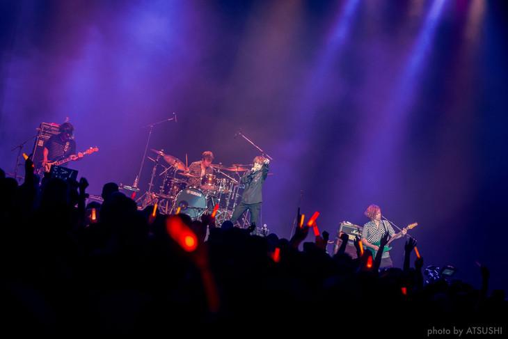 ナノ「FANIMECON」スペシャルステージの様子。(photo by ATSUSHI)
