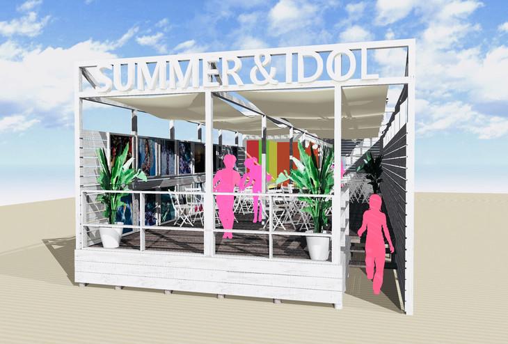 「SUMMER&IDOL」イメージ