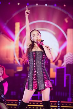 安室奈美恵「namie amuro Final Tour 2018 ~Finally~」東京ドーム公演の様子。