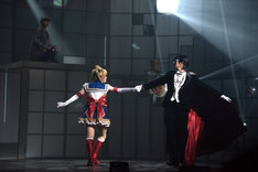 「乃木坂46版 ミュージカル『美少女戦士セーラームーン』」のゲネプロより。