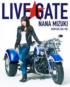 水樹奈々「NANA MIZUKI LIVE GATE」Blu-ray盤ジャケット
