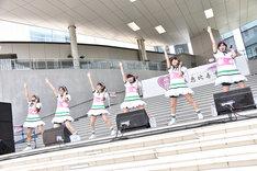 私立恵比寿中学「でかどんでん」リリース記念イベントの様子。