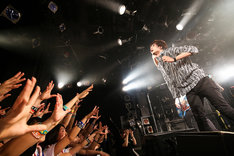 Bentham「Bulbous Bow Tour」東京・渋谷CLUB QUATTRO公演の様子。(写真提供:ポニーキャニオン)