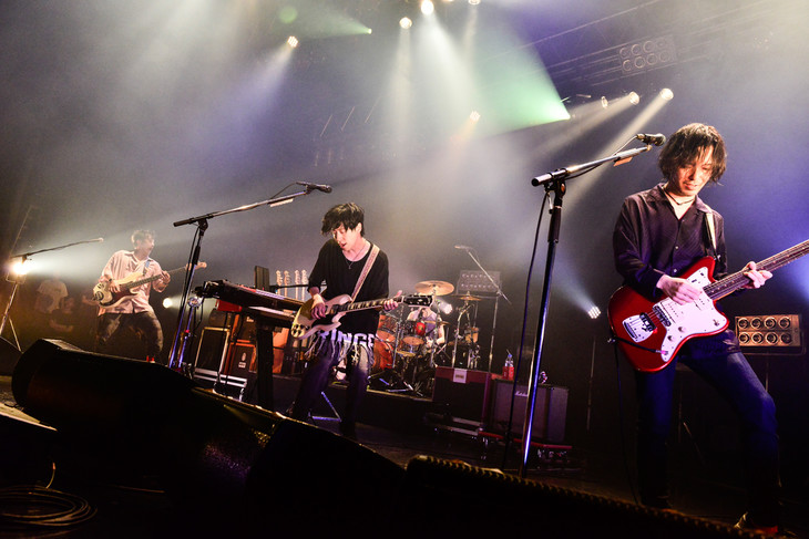 ストレイテナー「Future Dance TOUR」初日公演の様子。(Photo by Rui Hashimoto[SOUND SHOOTER])