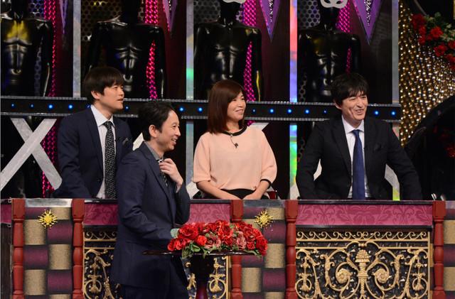 左からバカリズム、有吉弘行、大久保佳代子、博多大吉。(c)日本テレビ