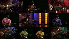 トクマルシューゴによる「エレクトリック・カウンターポイント」の演奏の様子。(写真提供:NHK)