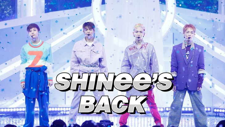 「SHINee's BACK」ティザービジュアル(C)CJ E&M Corporation, all rights reserved