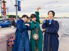 左からMIKIKO、椎名林檎、西加奈子。(写真提供:NHK)