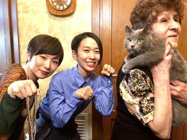 椎名林檎と西加奈子。(写真提供:NHK)