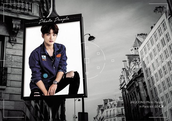 「JAEJOONG Photo People in Paris vol.02」ジャケット