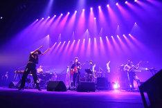 「ゲスの極み乙女。6th Anniversary live『乙女は変わる』」の様子。(撮影:猪俣晃一朗)