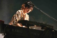 ちゃんMARI(Key)(撮影:猪俣晃一朗)