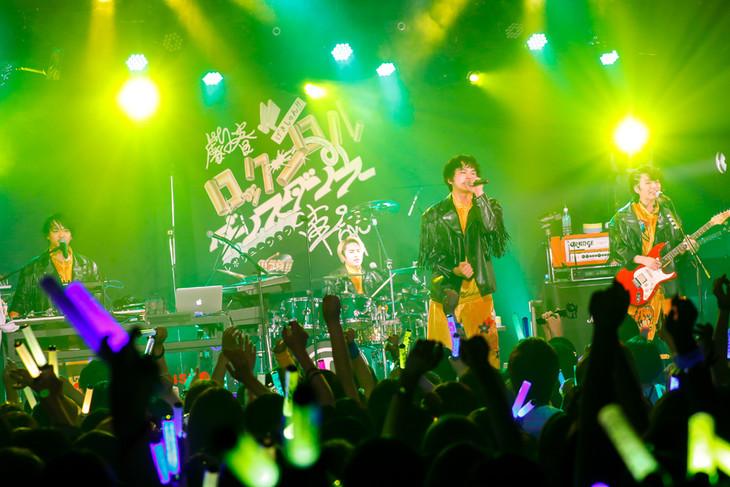 DISH//「劇春!!ロックンロール ダンスダンス革命」宮城・Rensa公演の様子。