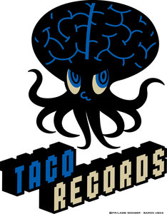 「TACO RECORDS」ロゴ