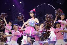 佐々木彩夏「AYAKA NATION 2018 in 横浜アリーナ」の様子。(Photo by HAJIME KAMIIISAKA+Z)