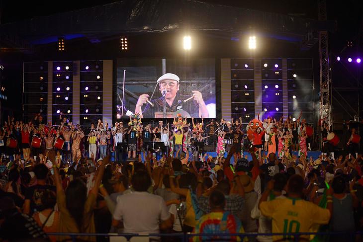 「沖縄からうた開き!うたの日コンサート2018 in 嘉手納」の様子。