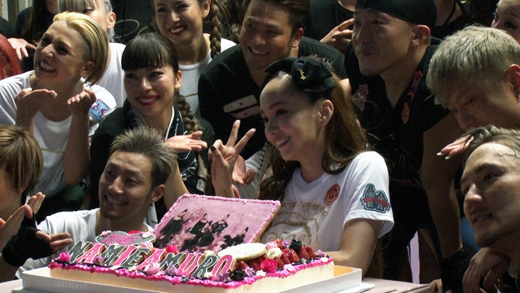 日本テレビ「namie amuro Final Space」のワンシーン。(c)日本テレビ