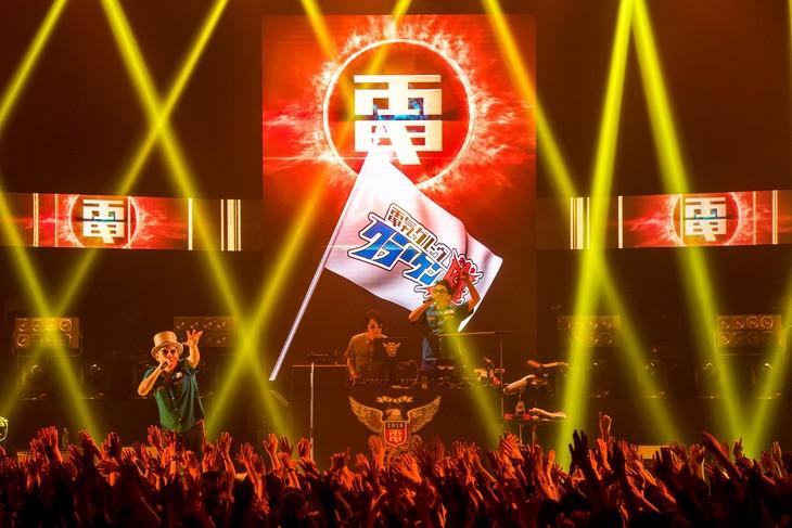 電気グルーヴ「クラーケン鷹」3月17日の東京・Zepp Tokyo公演の様子。(撮影:成瀬正規)