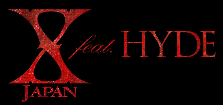 X JAPAN feat. HYDEロゴ