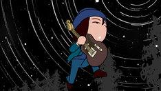 「ミライのテーマ」ミュージックビデオのワンシーン。