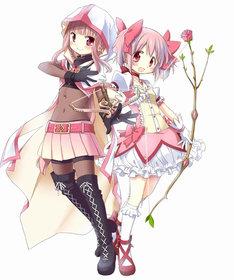 「マギアレコード 魔法少女まどか☆マギカ外伝」キャラクタービジュアル (c)Magica Quartet/Aniplex・Magia Record Partners