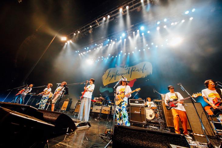 「フジフレンドパーク」7月14日公演のアンコールの様子。