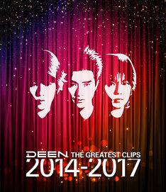 7月18日に発売されたDEENのミュージックビデオ集「THE GREATEST CLIPS 2014-2017」Blu-ray盤ジャケット。