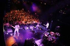 ニューヨーク Irving Plaza公演の様子。(写真提供:バッド・ミュージック)