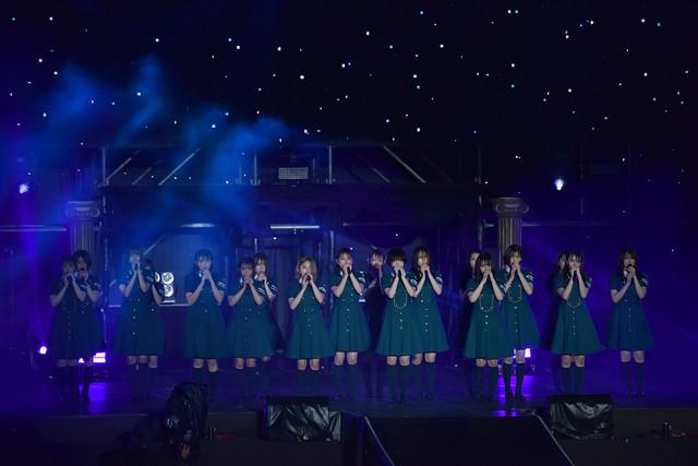 欅坂46「欅共和国2018」の様子。
