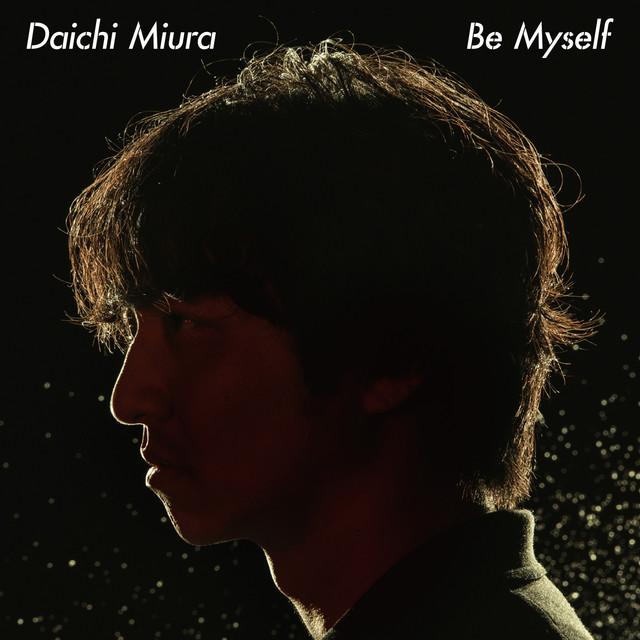三浦大知「Be Myself」CD盤ジャケット