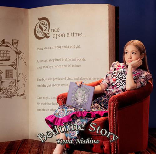 西野カナ「Bedtime Story」通常盤ジャケット