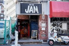 新宿JAMの入り口。