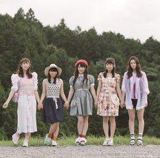ベボガ!のラストシングル「ビマベ! / 夏の永遠ガール」Type-Aジャケット。