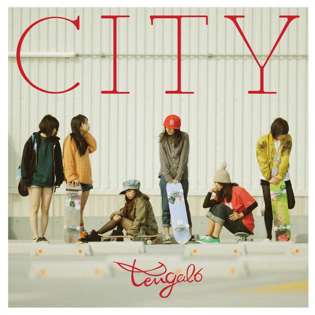 tengal6「CITY」ジャケット