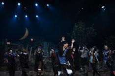 舞台「八王子ゾンビーズ」ゲネプロの様子。