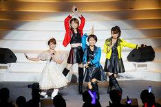 左から矢口真里、吉澤ひとみ、市井紗耶香、保田圭。(写真提供:アップフロントエージェンシー)