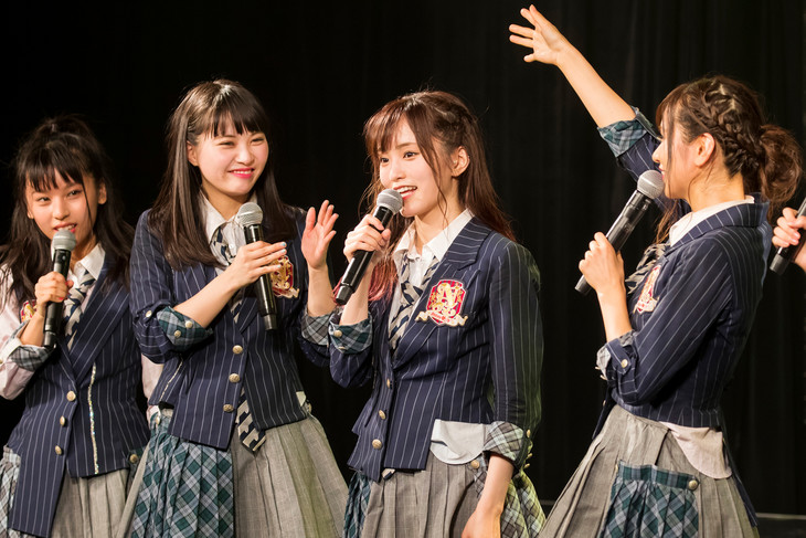 NMB48の本日の公演の様子。(c)NMB48