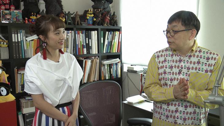 左から百田夏菜子(ももいろクローバーZ)、原ゆたか。(写真提供:NHK)