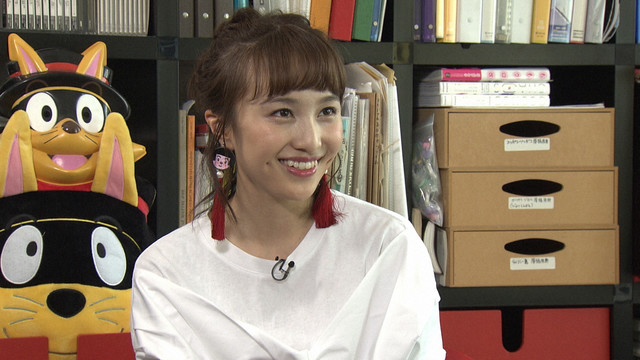 百田夏菜子(ももいろクローバーZ)(写真提供:NHK)