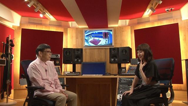 左から原ゆたか、百田夏菜子(ももいろクローバーZ)。(写真提供:NHK)