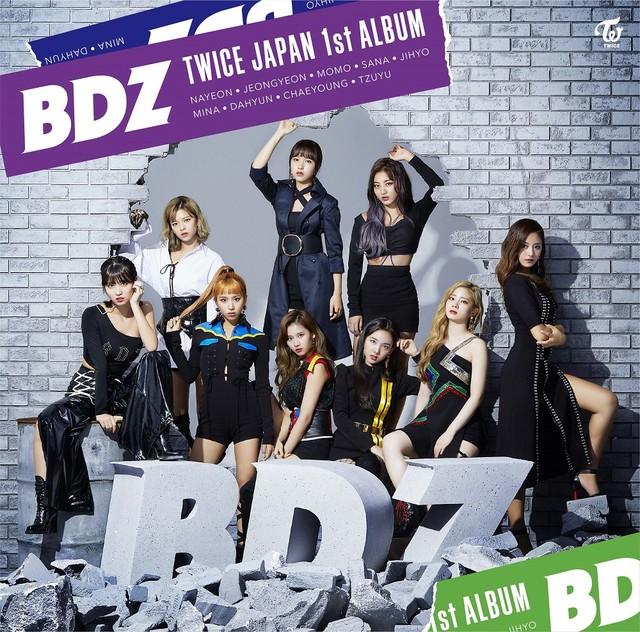TWICE「BDZ」ONCE JAPAN限定盤ジャケット