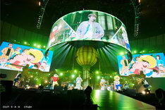 「YUZU ARENA TOUR 2018 BIG YELL II~Great Voyage~」神奈川・横浜アリーナ公演の様子。(撮影:太田好治)